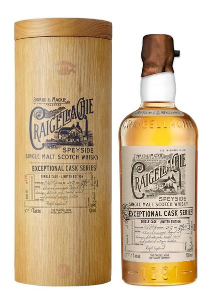 CRAIGELLACHIE® 39 Year Old Single Cask Launch Exclusive at World Duty Free, Heathrow Airport